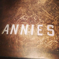 Photo taken at Annies Café & Bar by David A. on 3/8/2013