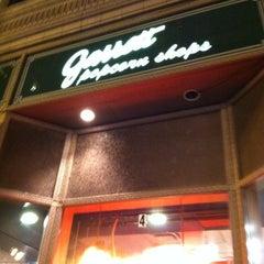 Photo taken at Garrett Popcorn Shops by Teri K. on 11/18/2012