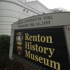 Photo taken at Renton History Museum by Ted D. on 2/2/2013
