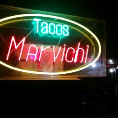 Photo taken at Tacos Marvichi by Cono on 7/25/2014