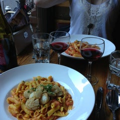 Photo taken at Radicchio Pasta and Risotto Co. by Kimberly E. on 6/13/2013