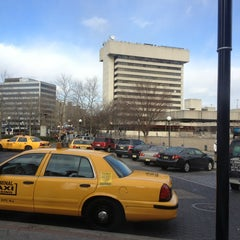 Photo taken at Journal Square Parking by Dalvin M. on 1/23/2013