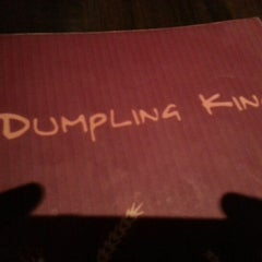 Photo taken at Dumpling King by Paula O. on 9/15/2012