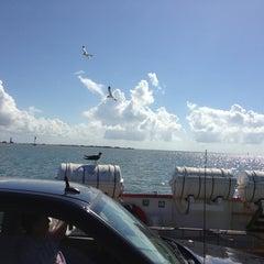 Photo taken at Galveston - Bolivar Ferry by Matt T. on 7/10/2013