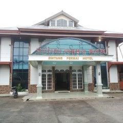 Photo taken at Sintang Permai Hotel by Abidin K. on 1/9/2015