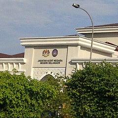 Photo taken at Jabatan Audit Negara Selangor by Mohd N. on 12/10/2012