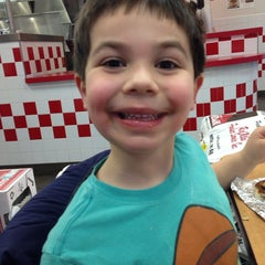 Photo taken at Five Guys by Renee F. on 3/17/2014
