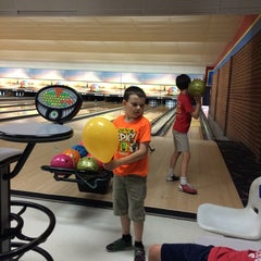 Photo taken at Buffaloe Lanes North Bowling Center by William F. on 7/5/2014