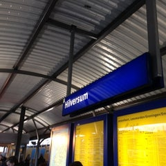 Photo taken at Station Hilversum by pvv on 12/5/2012