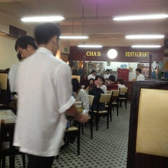 Photo taken at 查餐厅 | Cha's Restaurant by Michael K. on 4/28/2013