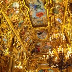 Photo taken at Opéra Garnier by Antoine L. on 2/28/2013