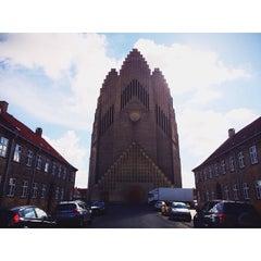Photo taken at Grundtvigskirken by Ashlyn J. on 7/31/2015