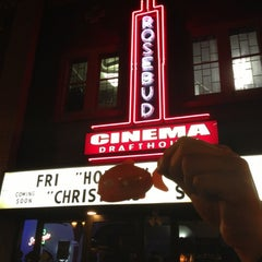Photo taken at Rosebud Cinema Drafthouse by Angie K. on 12/15/2012