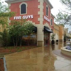 Photo taken at Five Guys by Desmond H. on 4/11/2013