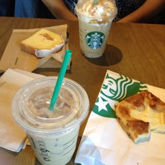 Photo taken at Starbucks by Alejandra S. on 8/10/2013