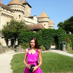 Photo taken at Château de Chillon by Anna T. on 7/13/2013