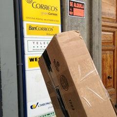 Photo taken at Oficina Correos by Tomás D. on 4/4/2013