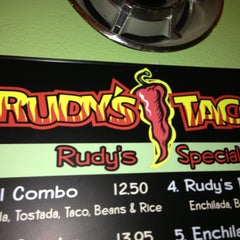 Photo taken at Rudy's Tacos by Stacy G. on 4/13/2013