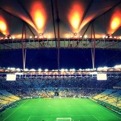 Photo taken at Estádio Jornalista Mário Filho (Maracanã) by Laís A. on 7/24/2013