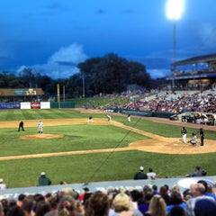 Photo taken at Fifth Third Bank Ballpark by Jeff D. on 6/29/2013