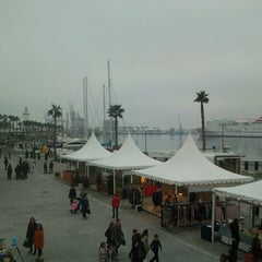 Photo taken at Muelle Uno by Jorge M. on 12/23/2012