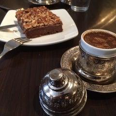 Photo taken at Senem's Coffee & Tea House by OMAR on 3/29/2014