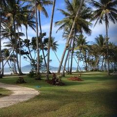 Photo taken at Castaways Resort Mission Beach by Leo D. on 7/16/2014
