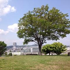 Photo taken at 富岡総合公園 by Kaduyoshi E. on 5/4/2013