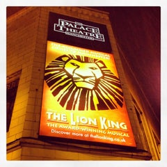 Photo taken at Palace Theatre by Kate M. on 12/22/2012