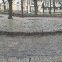 Photo taken at Jēkaba laukums (Jekaba square) by Matīss B. on 4/29/2013