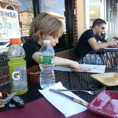 Photo taken at New York Panini by Meredith A. on 4/9/2013