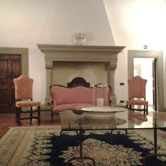 Photo taken at Palazzo Squarcialupi by Anderson A. on 10/20/2012