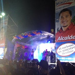 Photo taken at Plaza de la Cruz by Mario C. on 12/6/2013