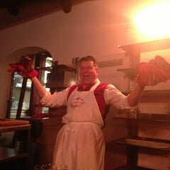 Photo taken at Antica Macelleria Cecchini by Becca S. on 5/1/2013