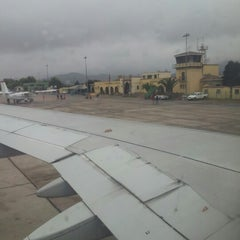 Photo taken at Aeropuerto La Florida (LSC - SCSE) by Ramón M. on 11/21/2012
