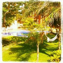 Photo taken at Pousada Naquela Jericoacoara by Germana M. on 12/30/2012