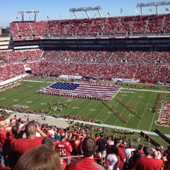 Photo taken at Raymond James Stadium by Kevin S. on 11/25/2012