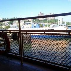 Photo taken at Staten Island Ferry Boat - Spirit Of America by Sarah F. on 9/20/2012