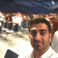 Photo taken at Bren Events Center by Khaled A. on 6/12/2015