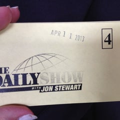 Photo taken at The Daily Show with Jon Stewart by Shannan L. on 4/11/2013