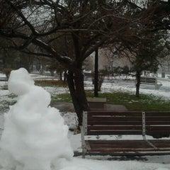 Photo taken at Parcul Eroilor by Gabriel V. on 1/15/2013
