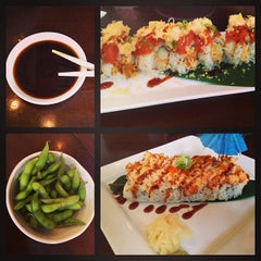 Photo taken at Fugus Sushi & Wok by Erica T. on 8/18/2013