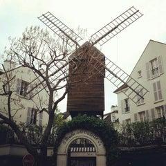 Photo taken at Le Moulin de la Galette by Susanne S. on 5/1/2013