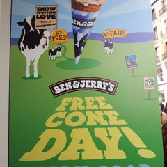 Photo taken at Ben & Jerry's by Javier V. on 4/9/2013