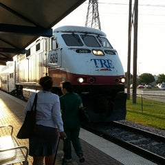 Photo taken at Richland Hills Station (TRE) by Rob G. on 6/20/2013