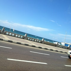 Photo taken at Corniche by Hamzeh A. on 10/25/2012