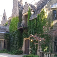 Photo taken at Edsel & Eleanor Ford House by Steak M. on 10/11/2014