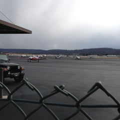 Photo taken at Capital City Airport (CXY) by Eric G. on 3/13/2013