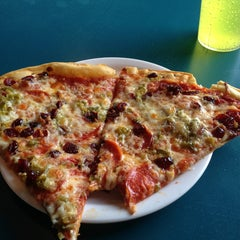 Photo taken at Crustys Pizza by Brett W. on 6/13/2013