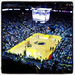 Photo taken at Oracle Arena by Lauren R. on 3/31/2013
